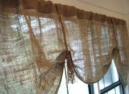 Image result for burlap curtain ideas for a room