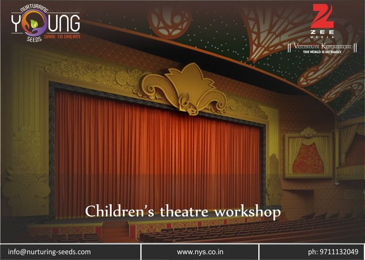 Children's theatre #workshop !!! There are in-numerous career options that one can pursue. But very less people tend to do what they really wish to do in their lives. It is very important to follow..... Read more at: http://bit.ly/2jKNpmT