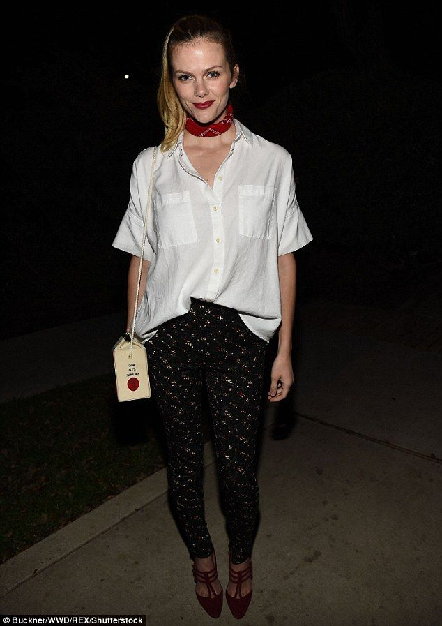 Flawless: Brooklyn Decker embraced her inner Texan for the Madewell Dinner during South By...