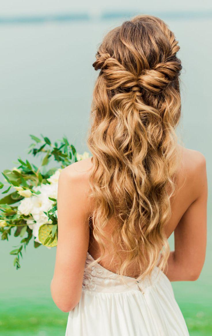 Brautfrisur halboffen für lange Haare – 18 Ideen   Hochzeitskiste ...