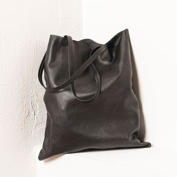 Brand: Mark & Fun. Leather Swag Bag Black on Fab. $72.80