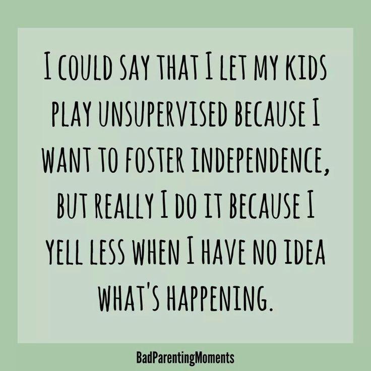 Scream-free parenting?