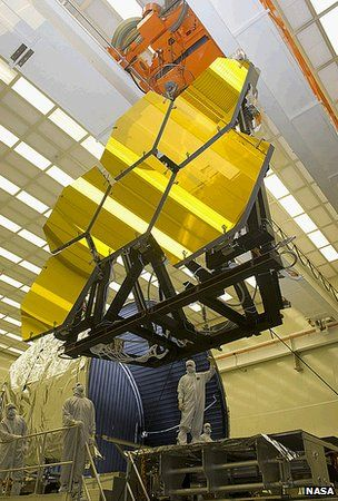 Hubble's successor, the James Webb Telescope to be launched in 2018.  It will attempt to collect the oldest light in the universe.