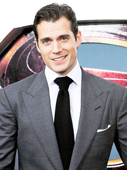 THAT SMILE! Add this to Cavill's list of superpowers: an adorable smile that will instantaneously melt your heart.