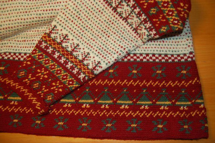 Perinnepaitaa kesyttämässä- Korsnäsin villapaidan tekemisestä