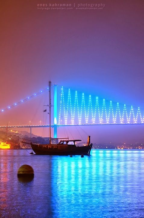 Istanbul Bosphorus Bridge, Turkey  Europe to Asia in one step