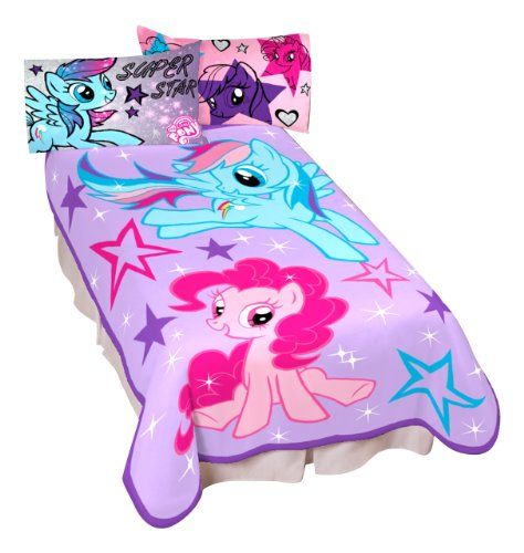For Sienna Hasbro My Little Pony Sparkle and Fly Micro Raschel Children Blanket Hasbro http://www.amazon.com/dp/B00G44638E/ref=cm_sw_r_pi_dp_sUv8tb0SPF8H1
