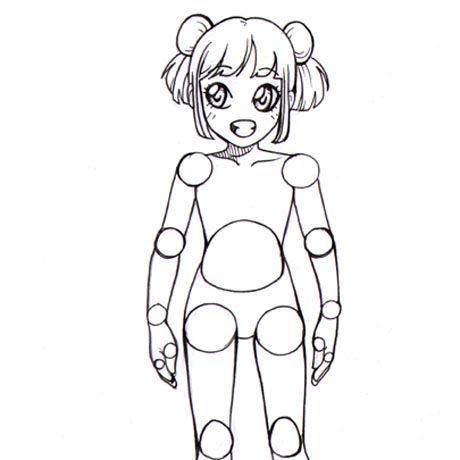 Astuce Manga : Dessiner le corps d'un personnage   L'atelier Canson