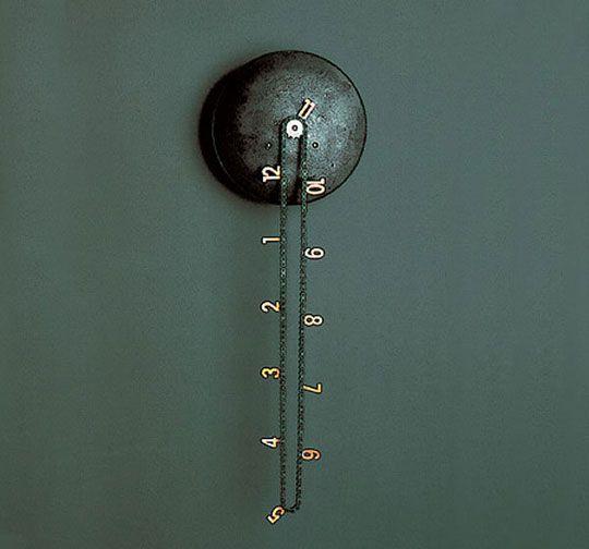 tighttttTime, Cool Clocks, Stuff, Chains, Catena Wall, Price Tags, Wall Clocks, Tick Tock, Design
