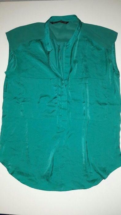 Grüne Bluse von Zara Gr. xs 34