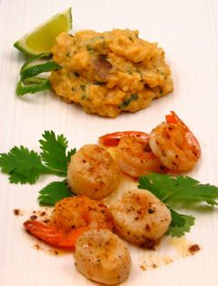 Thai Spice Infused Risotto Recipe with Sauteed Scallops and Shrimp Paired with Tilia Torrontes, Argentina  https://www.nataliemaclean.com/blog/thai-spice-infused-risotto-recipe-with-sauteed-scallops-and-shrimp-paired-with-tilia-torrontes-argentina/ #wine #winetaste #wineglass #wine101 #wine911 #winebottle #wineexpert #winedrinker #ilovewine #wineallthetime #wineknowledge #wineinfo #learnaboutwine #drinkwine #winepairing #winepro #whatwinetobuy #winereview #buyingwine #winelady #readysetwine…