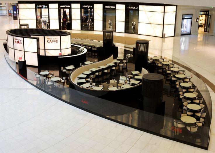 La Cupola Ristorante - design inspiration. Armani Caffe in Dubai Mall, UAE.