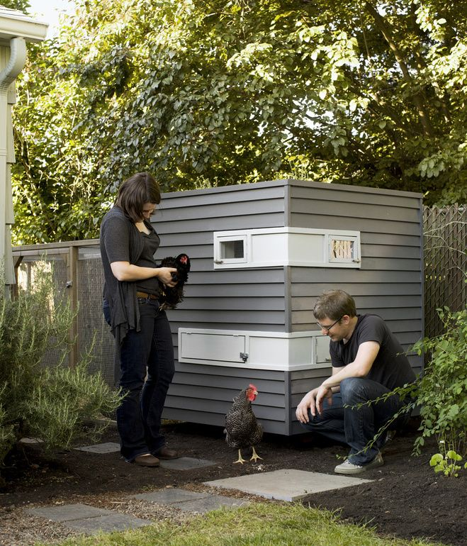 Fancy Backyard Chicken Coops : Chicken coop  Dwell  Cool Things  Pinterest