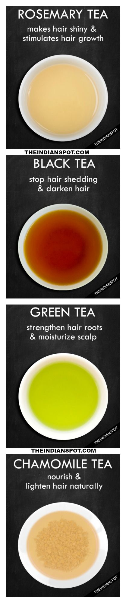 Tea Rinses and Their Benefits For Hair