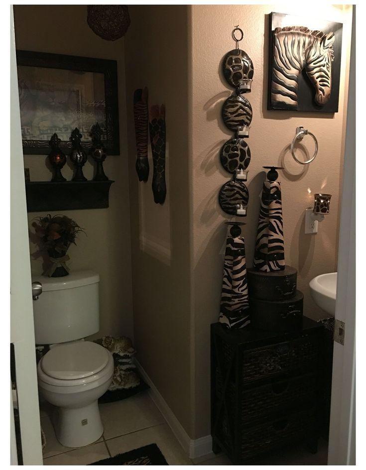 African Bathroom Decor Ideas, African Safari Bathroom Decor
