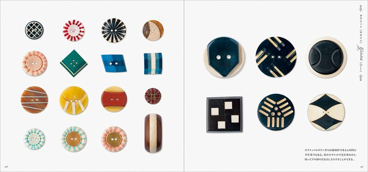 Sample page - Beautiful Buttons #Button #GiftBook #PhotographyBook #Antique