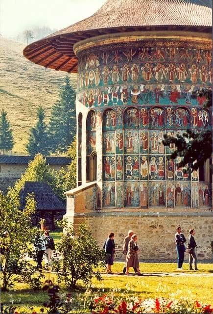 Manastirea #Sucevita, #Romania #Roumanie #Bukovina #Bucovine #Monastery #monastere