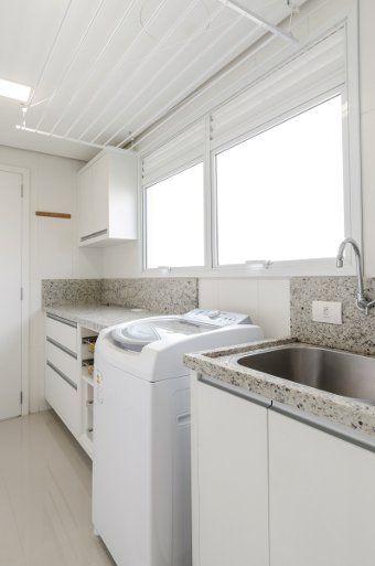 Área de serviço/lavanderia parecida com o que eu quero.