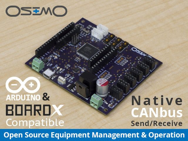 Versatile, CAN-bus capable, Arduino compatible, open source controller for your car, boat, home, robot, etc.