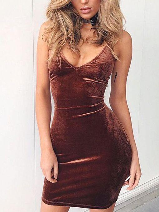 Lola Velvet Bodycon Dress