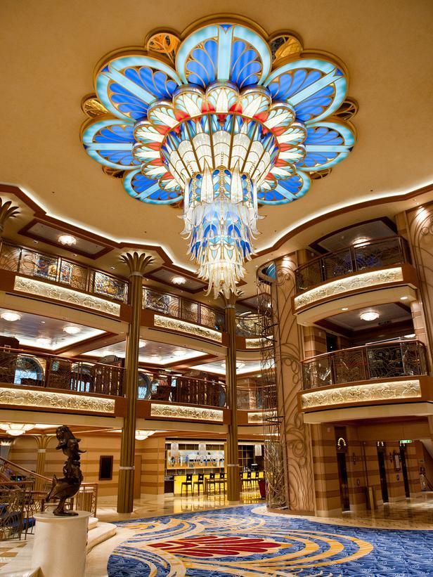 Disney™ Dream Cruise Ship  Lobby. Been there, done that, hopefully going back:)