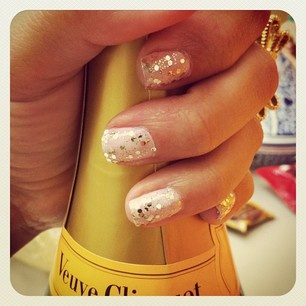 NYE nails that I want to keep all year long!