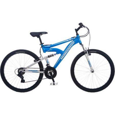 26 inch Mongoose XR-75 Men's All-Terrain Bike, Blue