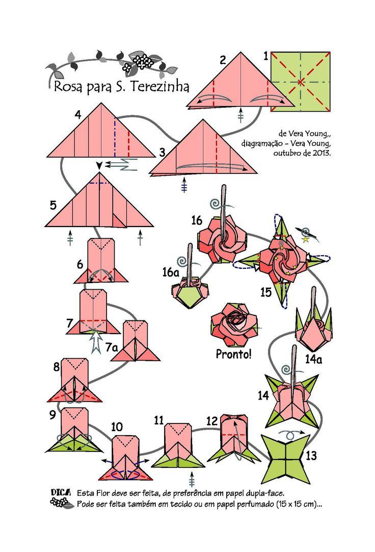 1000 images about origami on pinterest modular origami - Papiroflexia paso a paso ...