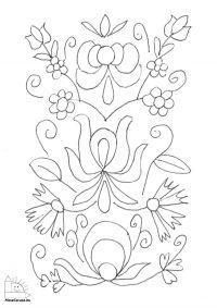 Virágok - Népi virágminták