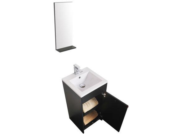Ensemble meuble-lavabo 16'', miroir et dessus. - Vanité 24 pouces et moins - Mobiliers de salle de bain - Salles de bain - Produits - Bain Dépôt