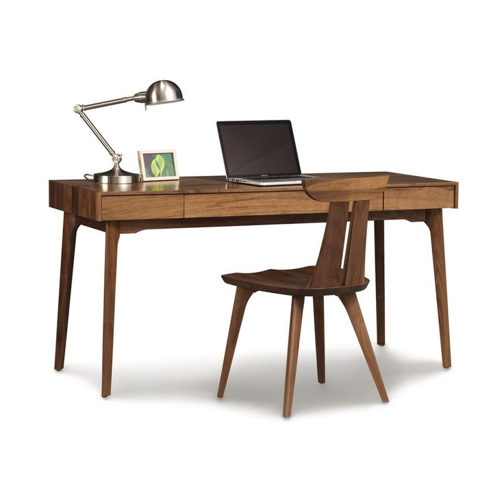 ... With Pull Out Keyboard Tray Is Handmade In Vermont Of Solid Natural  Walnut Wood. High End, Luxury American Made Furniture For The Small Home  Office. Part 82