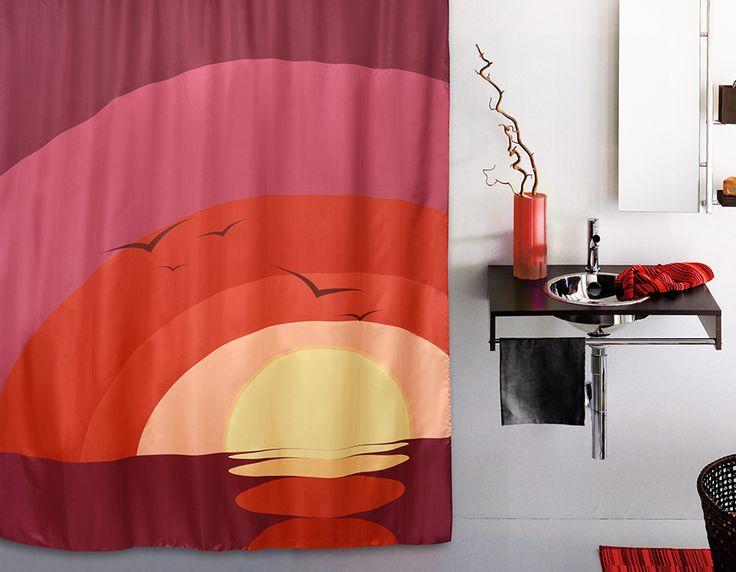 WESS Puerico - занавеска для ванной комнаты из ткани 180x200 см. Цена 1150р. Посмотреть на сайте: http://likemyhome.ru/catalog/shtorki-karnizy-kolca/00003122 #likemyhome #showercurtain #bathroomdecor #interiorstyle #wess #puerico