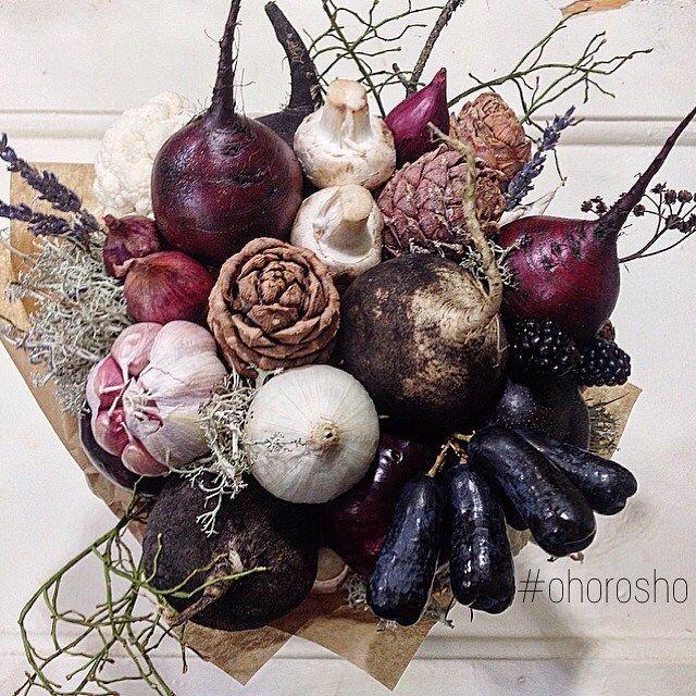 """Заказчик, помни ☝️ Выбирая """"северный лес"""", ты делаешь овощного флориста очень счастливым! ❤️Ииии красивым  #ohorosho"""