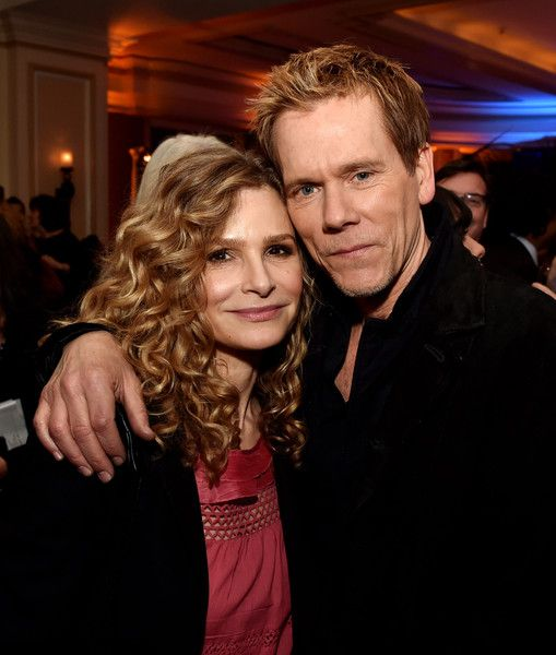 Kyra Sedgwick Photos Photos - Actress Kyra Sedgwick (L) and her husband actor Kevin Bacon pose at the Fox Winter TCA All-Star Party at the Langham Huntington Hotel on January 17, 2015 in Pasadena, California. - Fox All-Star Party - Inside