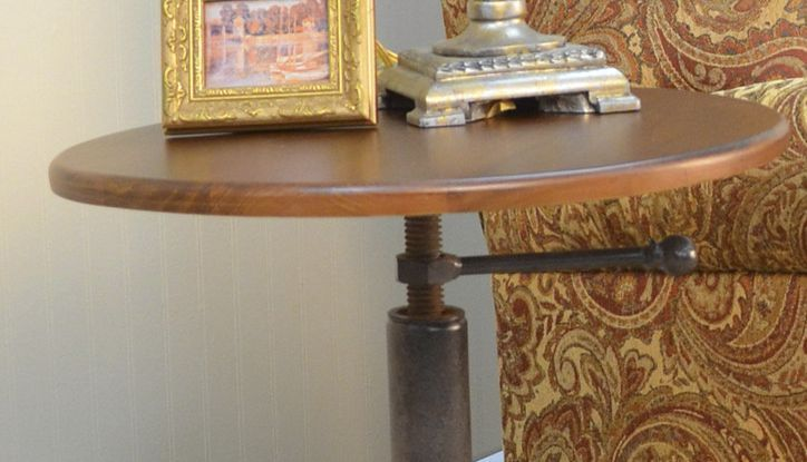 Industrial Wood And Metal Nightstand: 1000+ Images About Steampunk Furniture On Pinterest