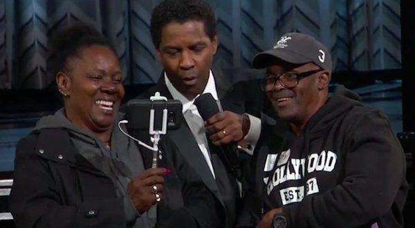 Denzel Washington Made a Couple's Dream Come True at the Oscars - www.MovieSpoon.com