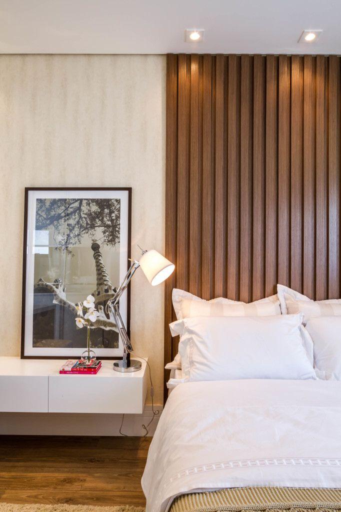 neutrals, wood, floating shelf, lamp, b&w photo