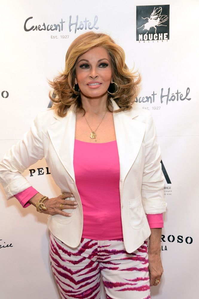 Raquel Welch, 72. Bright colors clearly not taboo for after 50!