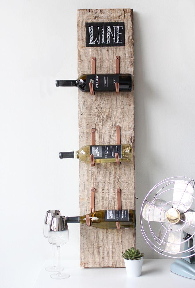 1248 best images about diy on pinterest desks pallets for Portabottiglie vino fai da te