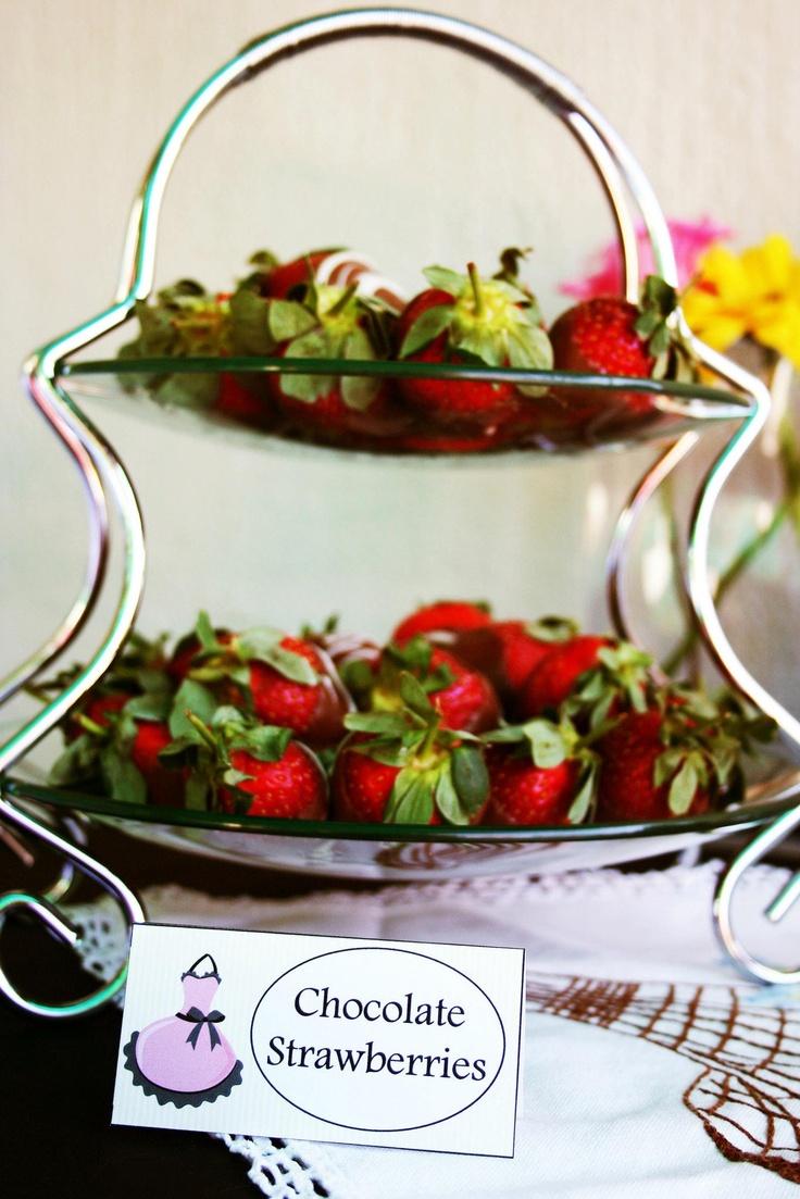 Chocolate Strawberries :-)