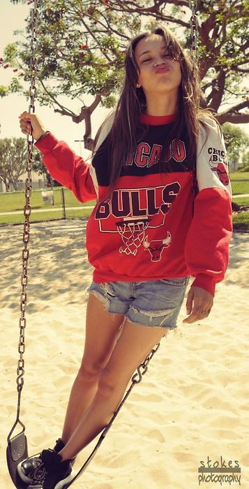 Bulls not my team but love the outfit