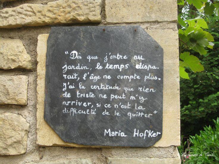 Le Jardin enchanté de Maria Hofker – La maison de Cécile