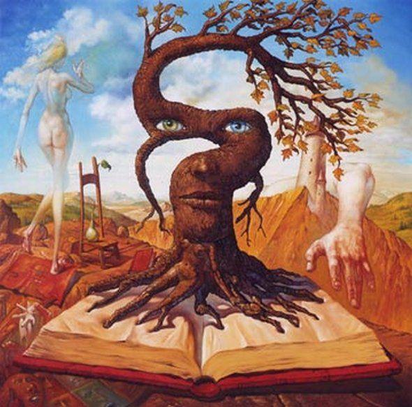 Salvador Dali Paintings Surrealism | Surrealistic Painter and Follower of Salvador Dali – José Roosevelt