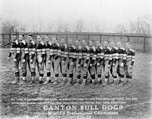 1923 ~ Canton Bulldogs (Runner-up ~ Chicago Bears) ~ http://en.wikipedia.org/wiki/1923_NFL_season