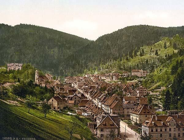 Treiberg, general view, Black Forest, Baden, Germany between 1890 and 1900  Wonderful pic