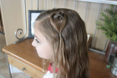 Valentines Hairstyles: 35 Best Images About VALENTINE HAIR STYLES On Pinterest