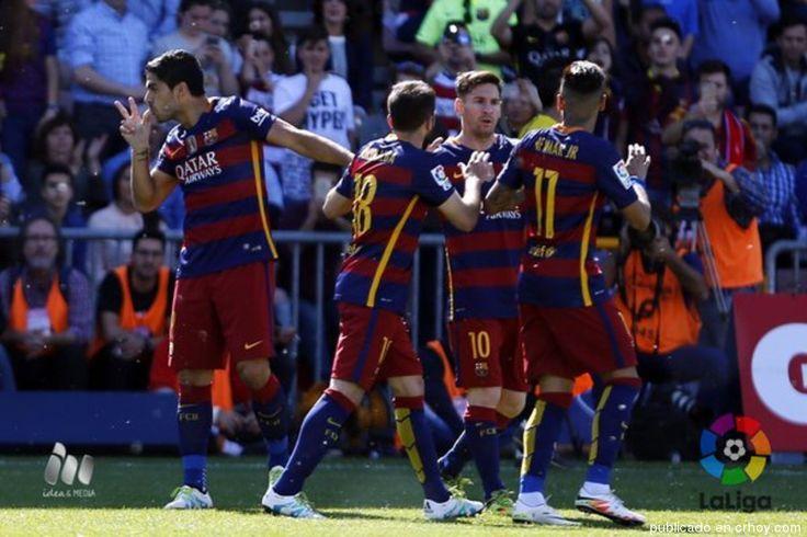 ¡Barcelona campeón! Luis Suárez brilló y firma título para los catalanes