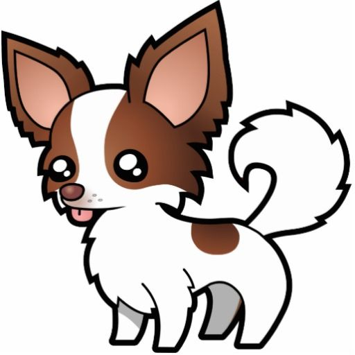 chihuahua dog clipart - photo #22
