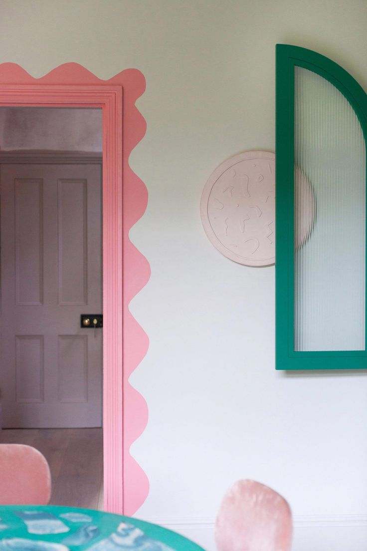 Studio mix pastel hues with quirky details for home and workplace quirkyhomedecor 638174209678556056 Quirky Home Decor, Diy Home Decor, Pastel Interior, Interior Ideas, Interior Design, Interior Decorating, Pastel Room, Pastel Walls, Home Decor Ideas