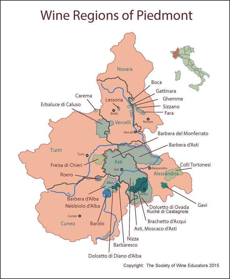 Piedmont #wine #wineeducation